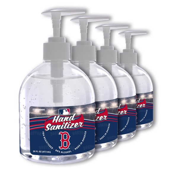 Picture of Boston Red Sox 16 oz. Hand Sanitizer