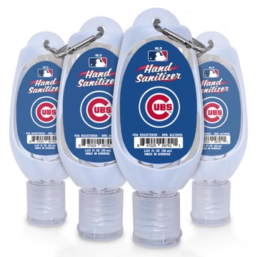 Picture of Chicago Cubs 1.69 oz Travel Keychain Sanitizer