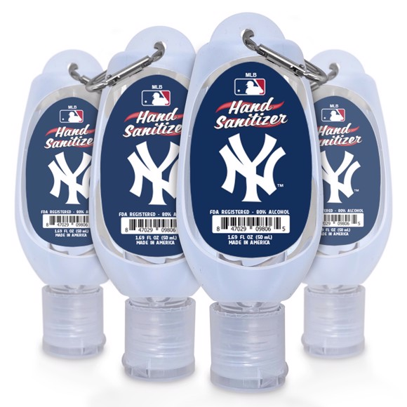 Picture of New York Yankees 1.69 oz Travel Keychain Sanitizer