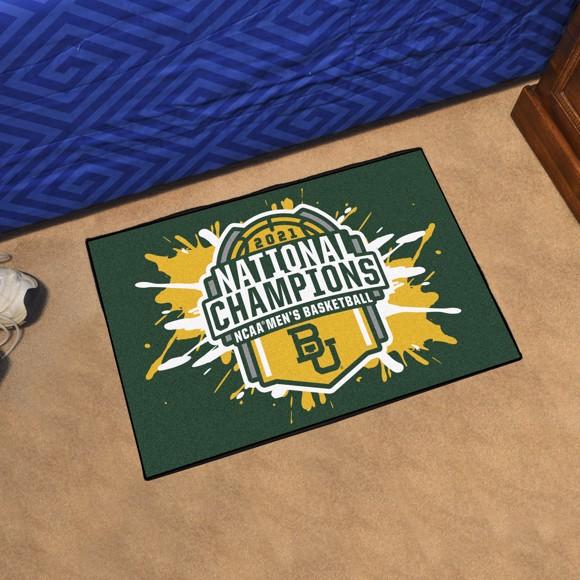 Picture of Baylor University NCAA Basketball 2021 Championship Starter Mat