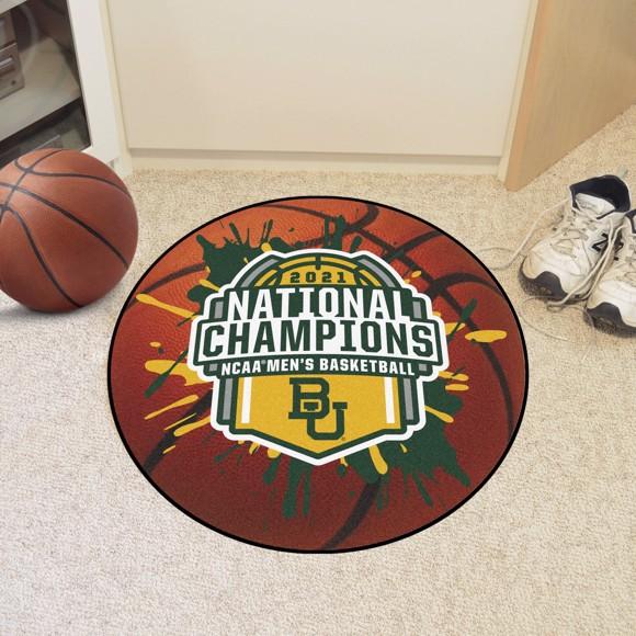Picture of Baylor University NCAA Basketball 2021 Championship Basketball Mat
