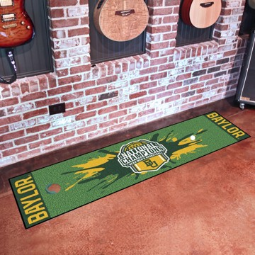 Picture of Baylor University NCAA Basketball 2021 Championship Putting Green Mat