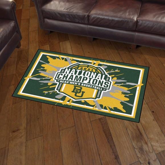 Picture of Baylor University NCAA Basketball 2021 Championship 3x5 Rug