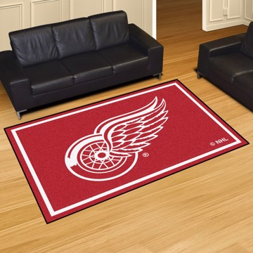 Picture of NHL - Detroit Red Wings 5'x8' Plush Rug