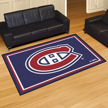 Picture of NHL - Montreal Canadiens 5'x8' Plush Rug