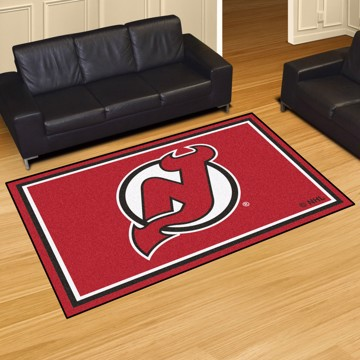 Picture of NHL - New Jersey Devils 5'x8' Plush Rug