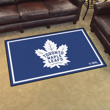 Picture of NHL - Toronto Maple Leafs 4'x6' Plush Rug