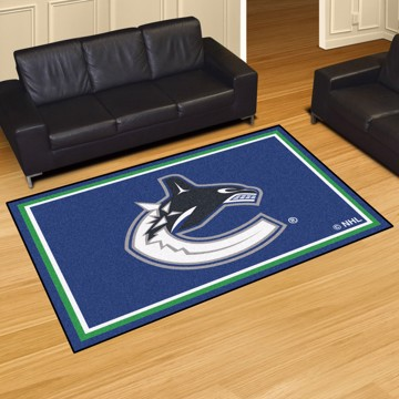 Picture of NHL - Vancouver Canucks 5'x8' Plush Rug