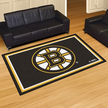 Picture of NHL - Boston Bruins 5'x8' Plush Rug