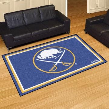 Picture of NHL - Buffalo Sabres 5'x8' Plush Rug