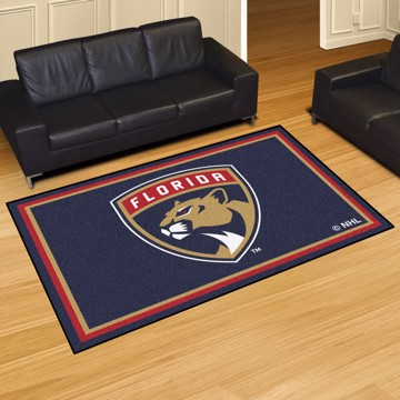 Picture of NHL - Florida Panthers 5'x8' Plush Rug