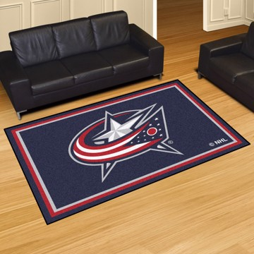 Picture of NHL - Columbus Blue Jackets 5'x8' Plush Rug