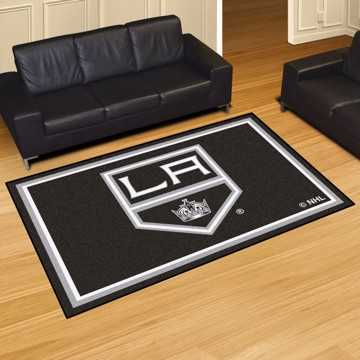 Picture of NHL - Los Angeles Kings 5'x8' Plush Rug