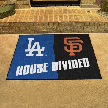 Picture of MLB House Divided - Dodgers / Giants