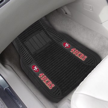 Picture of NFL - San Francisco 49ers Deluxe Car Mat Set