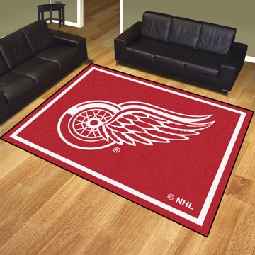 Picture of NHL - Detroit Red Wings 8'x10' Plush Rug