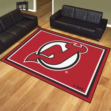 Picture of NHL - New Jersey Devils 8'x10' Plush Rug