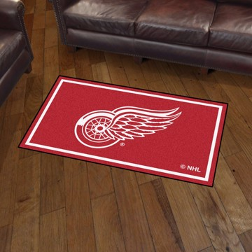 Picture of NHL - Detroit Red Wings 3'x5' Plush Rug