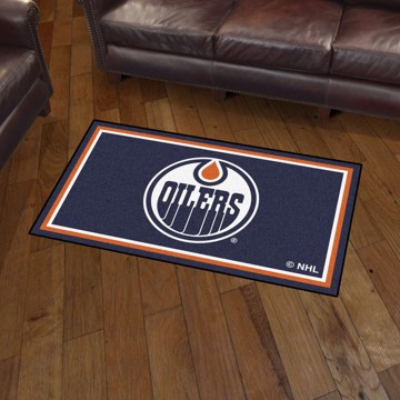 Picture of NHL - Edmonton Oilers 3'x5' Plush Rug