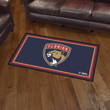 Picture of NHL - Florida Panthers 3'x5' Plush Rug