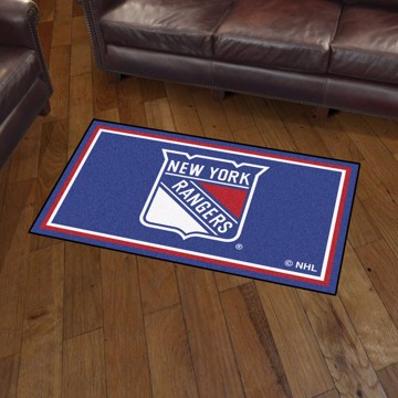 Picture of NHL - New York Rangers 3'x5' Plush Rug