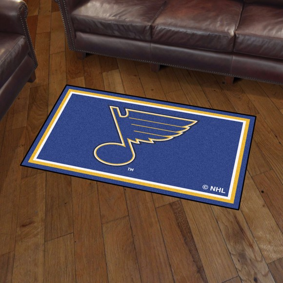 Picture of NHL - St. Louis Blues 3'x5' Plush Rug