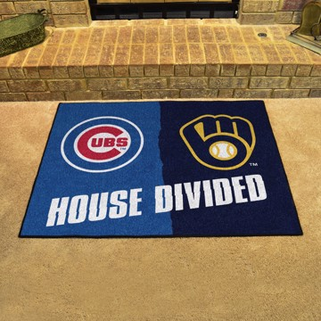 Picture of MLB House Divided - Cubs / Brewers