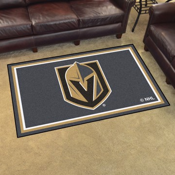 Picture of NHL - Vegas Golden Knights 4'x6' Plush Rug