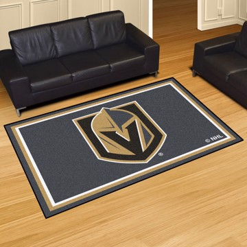 Picture of NHL - Vegas Golden Knights 5'x8' Plush Rug