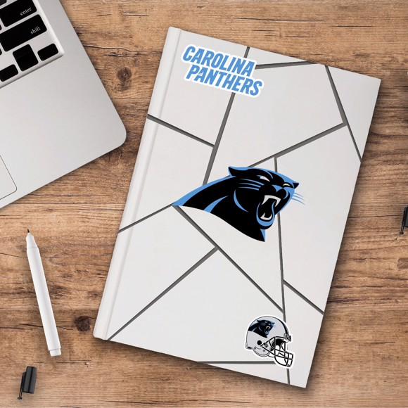 Picture of NFL - Carolina Panthers Decal 3-pk