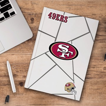 Picture of NFL - San Francisco 49ers Decal 3-pk