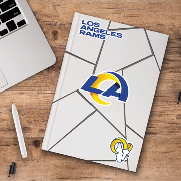 Picture of NFL - Los Angeles Rams Decal 3-pk