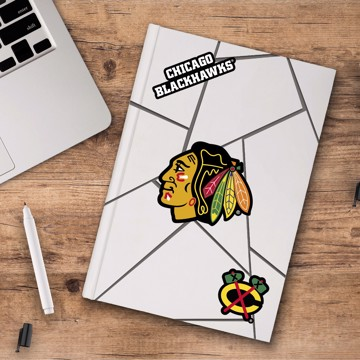 Picture of NHL - Chicago Blackhawks Decal 3-pk