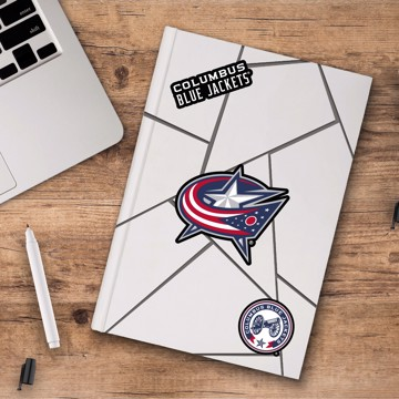 Picture of NHL - Columbus Blue Jackets Decal 3-pk