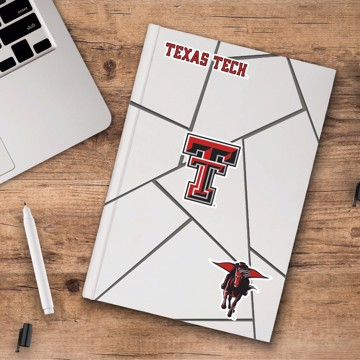 Picture of Texas Tech Decal 3-pk