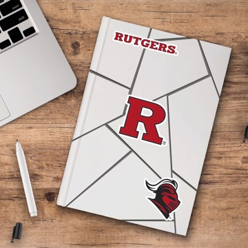 Picture of Rutgers Decal 3-pk