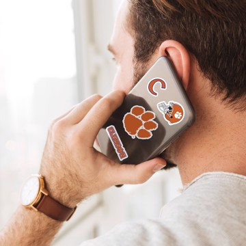 Picture of Clemson Mini Decal 12-pk