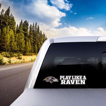 Picture of NFL - Baltimore Ravens Team Slogan Decal