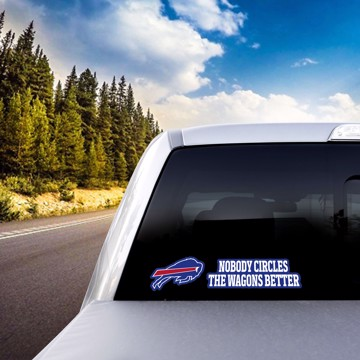 Picture of NFL - Buffalo Bills Team Slogan Decal