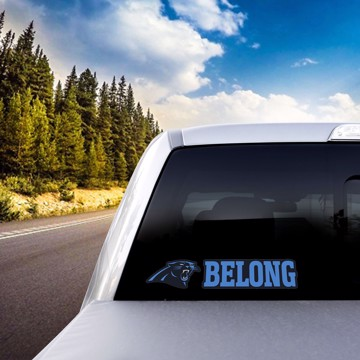 Picture of NFL - Carolina Panthers Team Slogan Decal