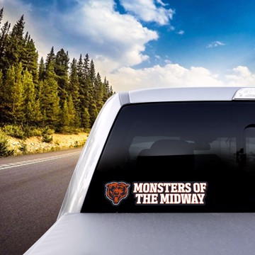 Picture of NFL - Chicago Bears Team Slogan Decal