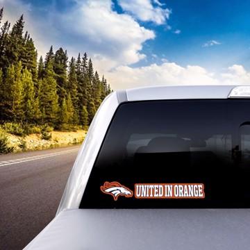 Picture of NFL - Denver Broncos Team Slogan Decal