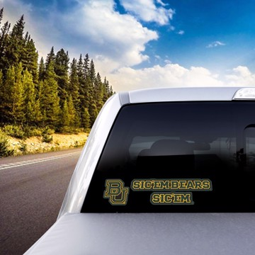 Picture of Baylor Team Slogan Decal