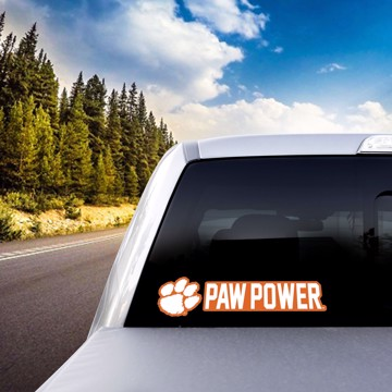 Picture of Clemson Team Slogan Decal