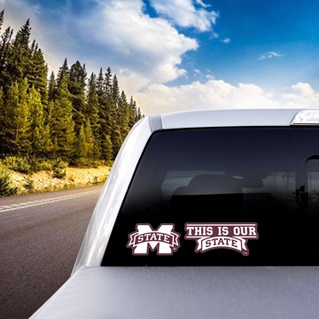 Picture of Mississippi State Team Slogan Decal