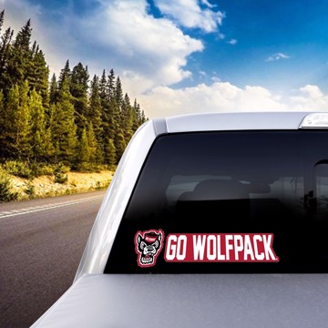Picture of NC State Team Slogan Decal