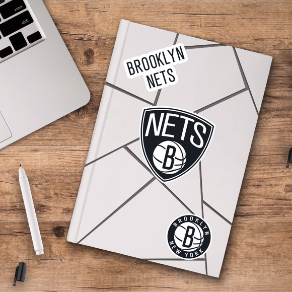 Picture of Brooklyn Nets Decal 3-pk