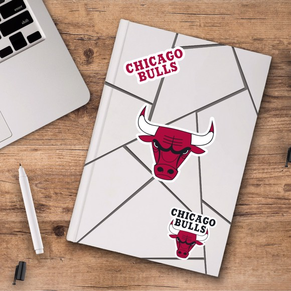 Picture of Chicago Bulls Decal 3-pk
