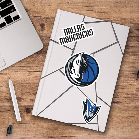 Picture of Dallas Mavericks Decal 3-pk