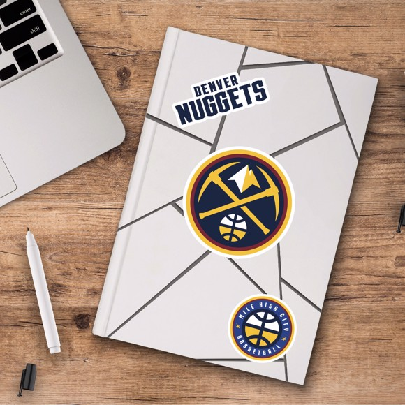 Picture of Denver Nuggets Decal 3-pk